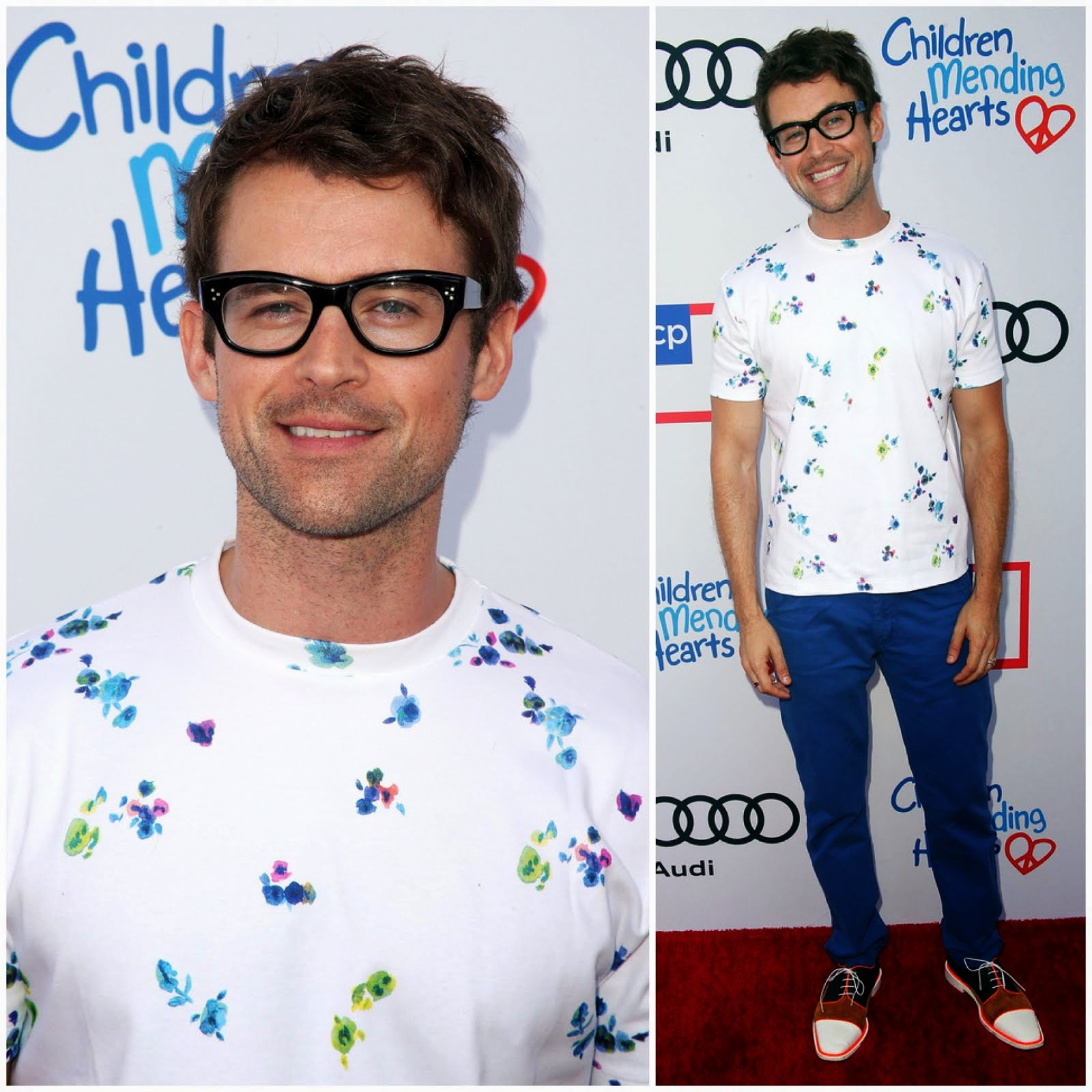 00O00 Menswear Blog: Brad Goreski in Raf Simons for Mr Porter - 1st Annual Children Mending Hearts Style Sunday