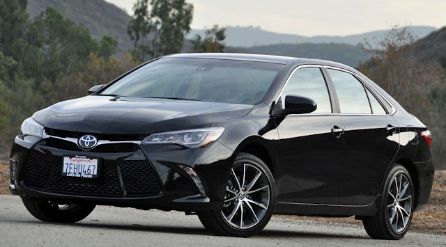 2016 Toyota Camry XSE Review Los Angeles Black