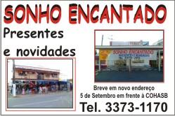 SONHO ENCANTADO