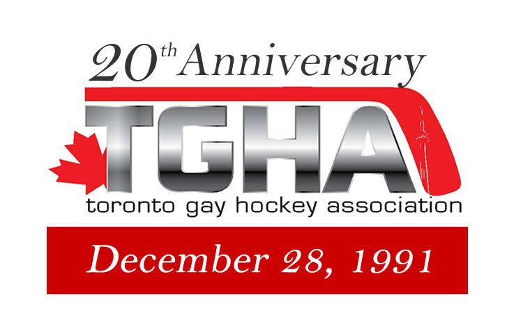 Best wishes to the Toronto Gay Hockey Association on their 20th Anniversary!