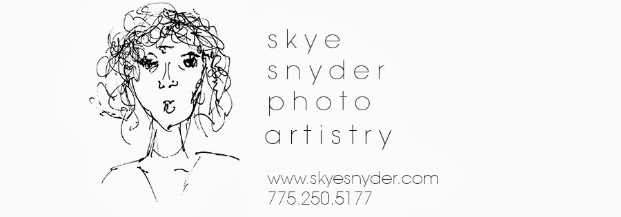 Reno |  Tahoe | Cabo | Photographer; Portrait Artist Skye Snyder Photography