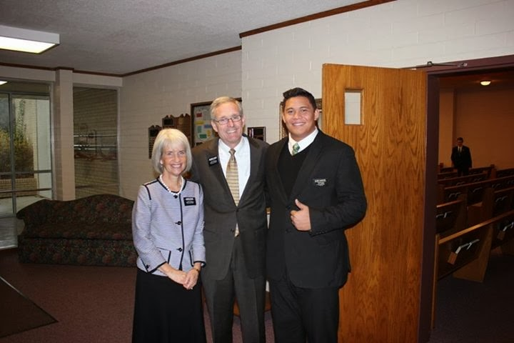 Wisconsin Milwaukee Mission President and Sister Cutler