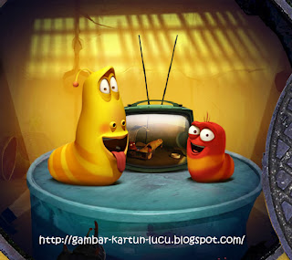 Cute Larva Cartoon