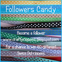 Crafty Ribbons Candy Winner Every 100 followers