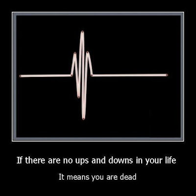 If+there+are+no+ups+and+downs+in+your+life,+It+means+you+are+dead - Quote For The Day - Quotable Quotes