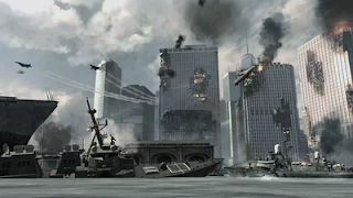 MW3 New York Invasion