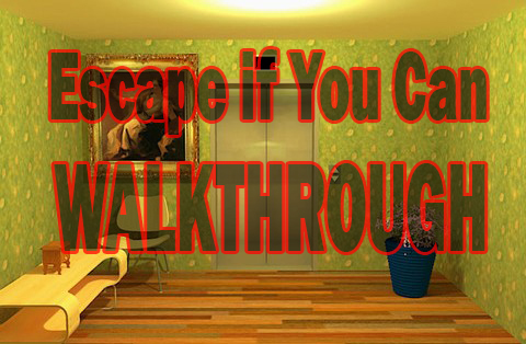 Escape If You Can Walkthrough Zombie Games Walkthrough