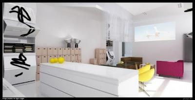Grzegorgz Magierowsky ha diseñado unos espacios modernos y bien compensados para las estancias de una casa, estancias que inspiran vanguardismo a la vez que paz.