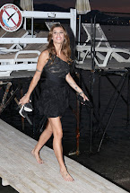 Barefoot Celebrities Elisabetta Canalis Party