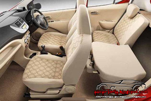 maruti suzuki launched refreshed 2012 a star interior car. Black Bedroom Furniture Sets. Home Design Ideas