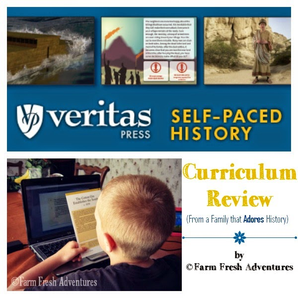 veritas press self paced history review