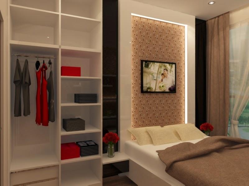 Jasa desain interior dan eksterior 3d desain 3d interior for Design apartemen 2 kamar