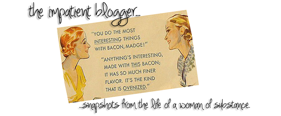 the impatient blogger™