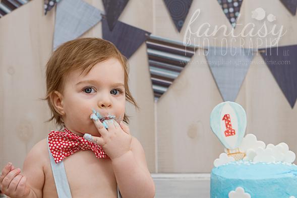cake smash photographers in winston salem nc | baby photographers winston salem