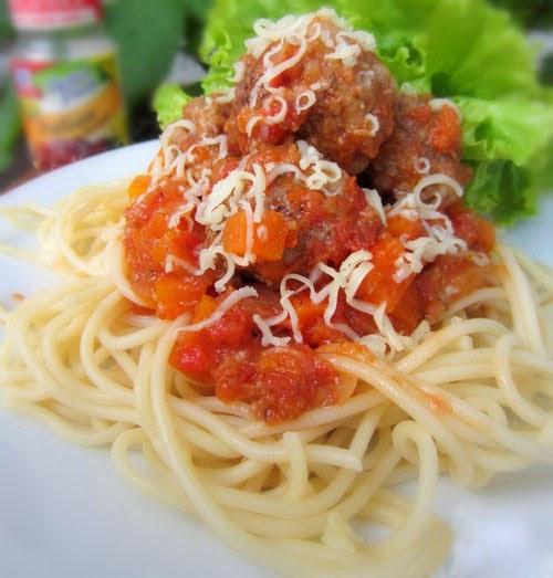 Mỳ Ý Sốt Cà Chua