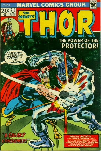 Thor #219, the Protector