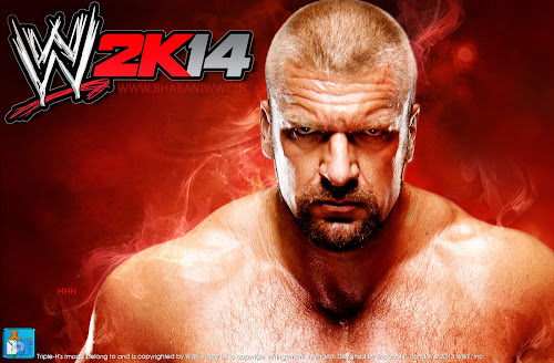 Download Triple-H - WWE2K14 HQ Un-Official Wallpaper [WWE 2K14 Wallpaper Series, Wallpaper #2], wwe 2k14 wallpaper hq, hd, 1920x1080, triple-h 2013 wallpaper
