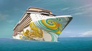 Norwegian Getaway Chartered By Anheiser-Bush as the Bud Light Hotel for Superbowl XLVIII