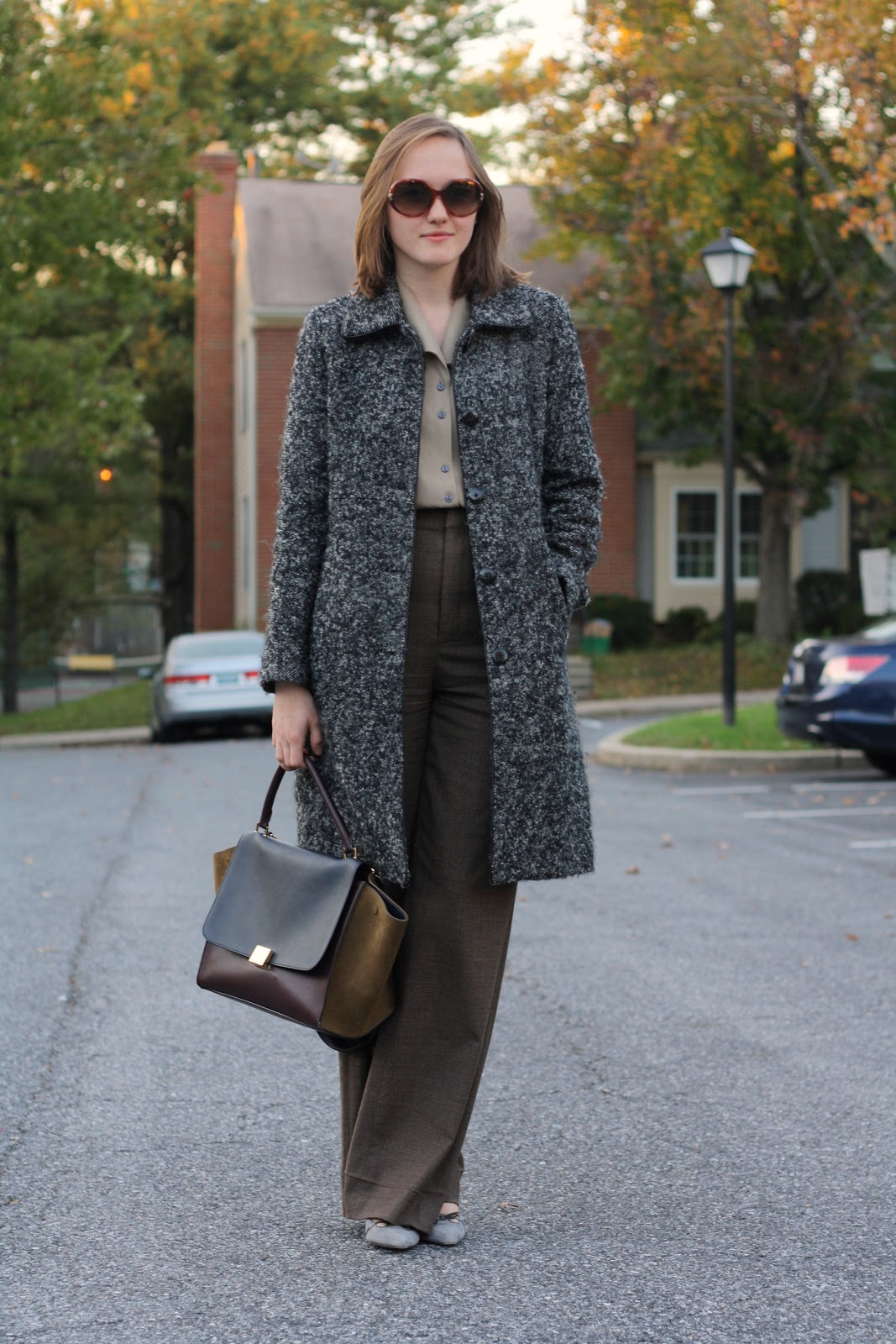 Thrifty Business: Wearing Now: Celine Take Two