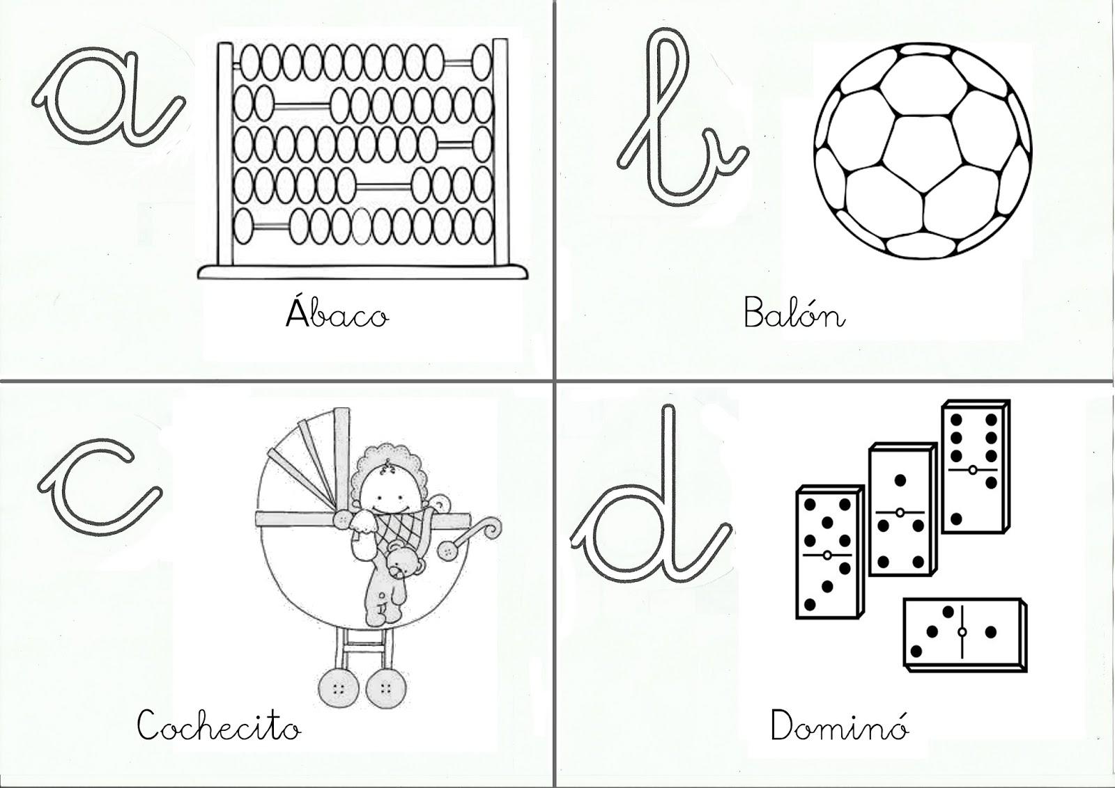 Qué puedo hacer hoy?: Mis juguetes: abecedario para colorear