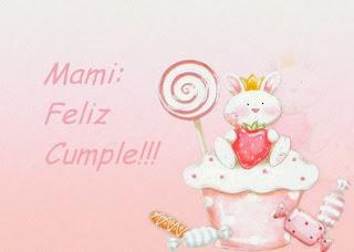 Feliz Cumpleaños Mami, parte 2