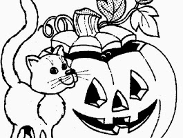 Halloween Owl Coloring Pages