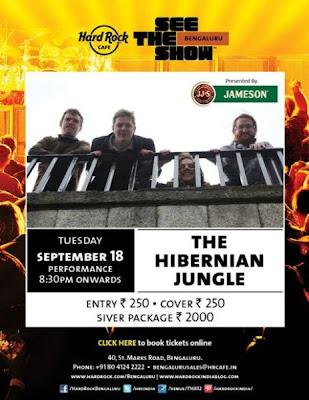 Live Performance by The Hibernian Jungle