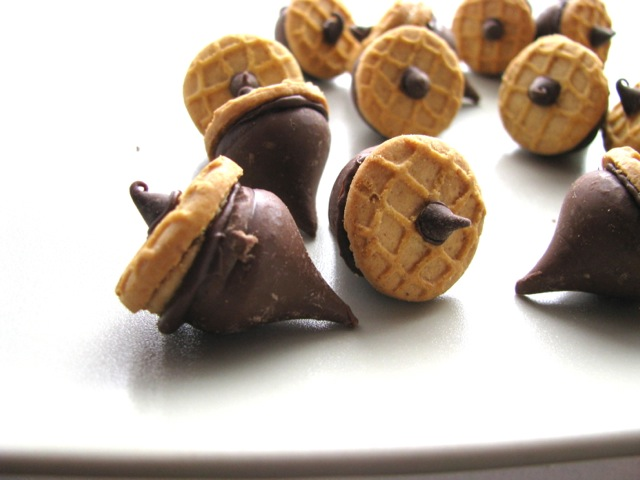 Playing With My Food: Chocolate Peanut Butter Acorns