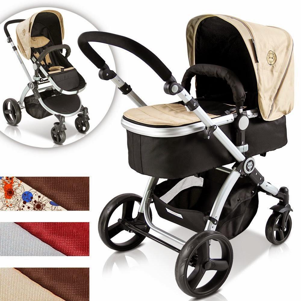 Infantastic carrito de beb combinado 2 en 1 parecido a for Silla coche nino 7 anos