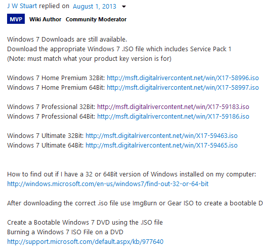 Download Windows 7 Premium, Professional, Ultimate từ Microsoft