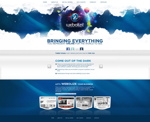 Web-Design-Webolize