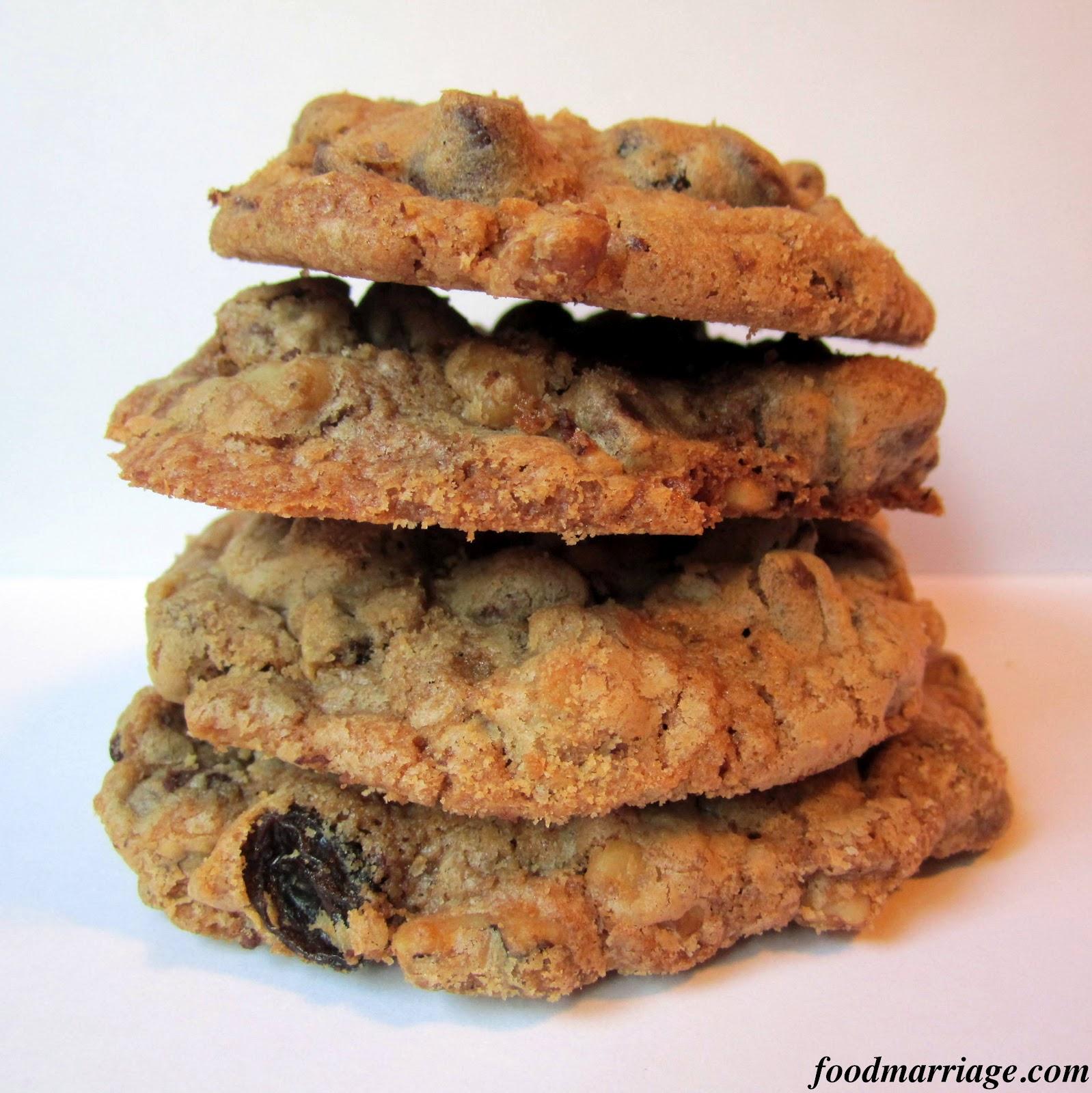 Recipe: Chunky Chocolate Walnut Raisin Cookies