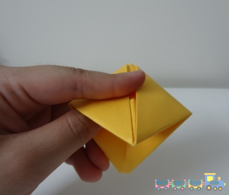How To Fold A Paper Boat 7