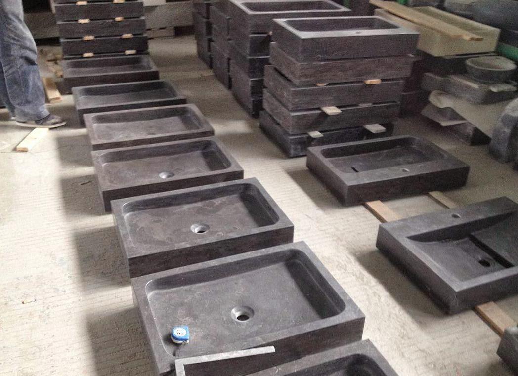 Wastafels, wasbakken en waskommen: Chinees Hardstenen wasbakken en ...
