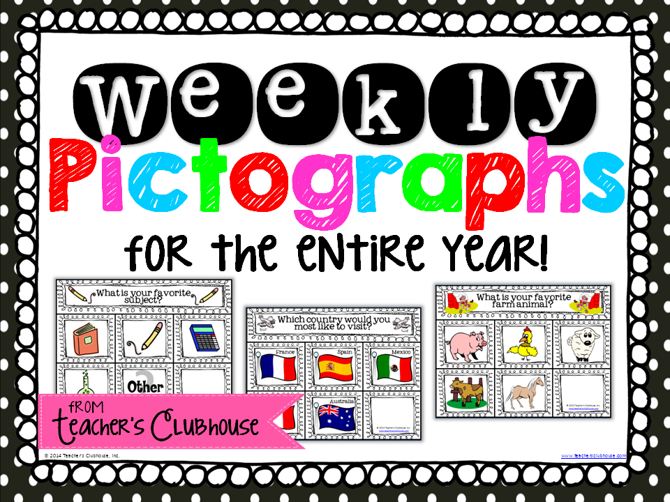 http://www.teacherspayteachers.com/Product/Graph-a-Week-Pictograph-Edition-1309304