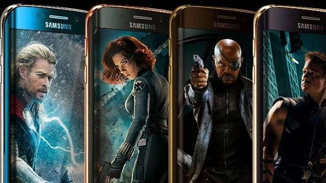 Galaxy S6 Edge Avengers Temalı Cihazlar