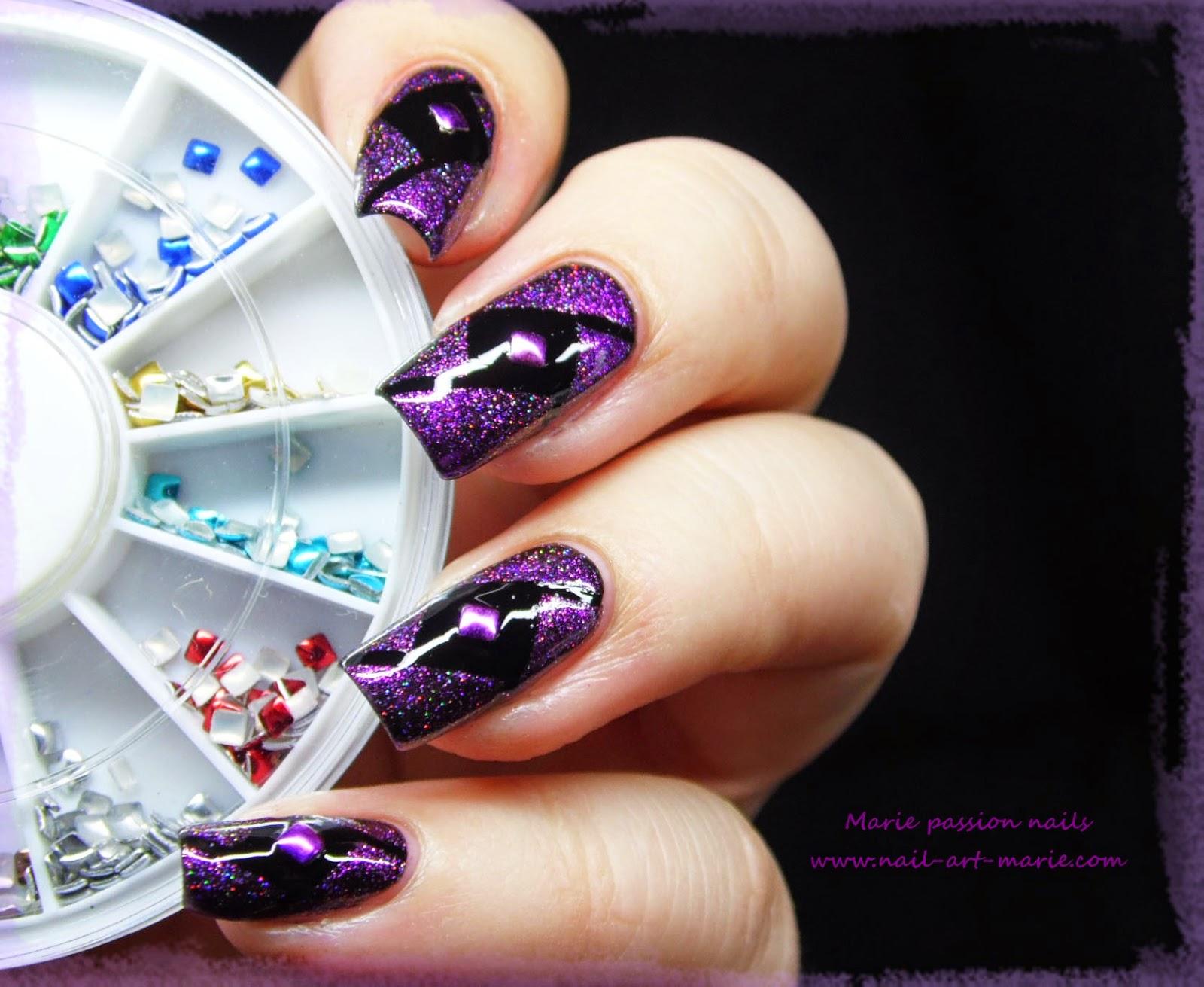 Nail Art Studs Géométrique1