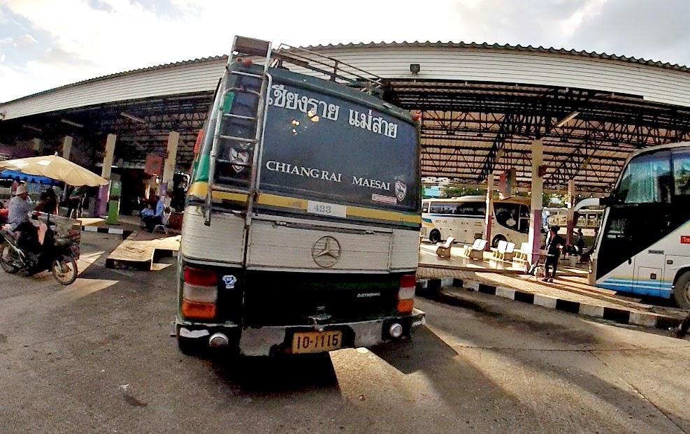 Mae Sai Bus Station