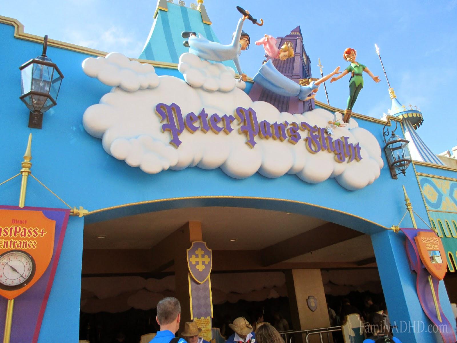orlando family travel guide 2015 fantasyland peter pan's flight