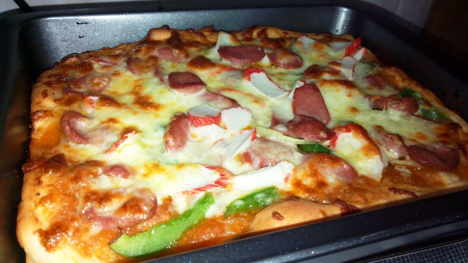 Resipi Pizza Mudah Dan Gebu