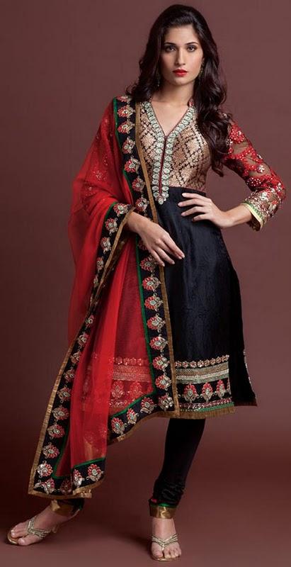 Western Style Of Indian Kurti Collection 2011 Churidaar