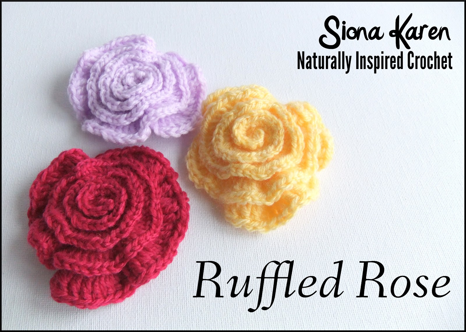 Crochet Patterns Roses Free : Labels: Crochet , Flowers & Leaves , Free Patterns , Patterns