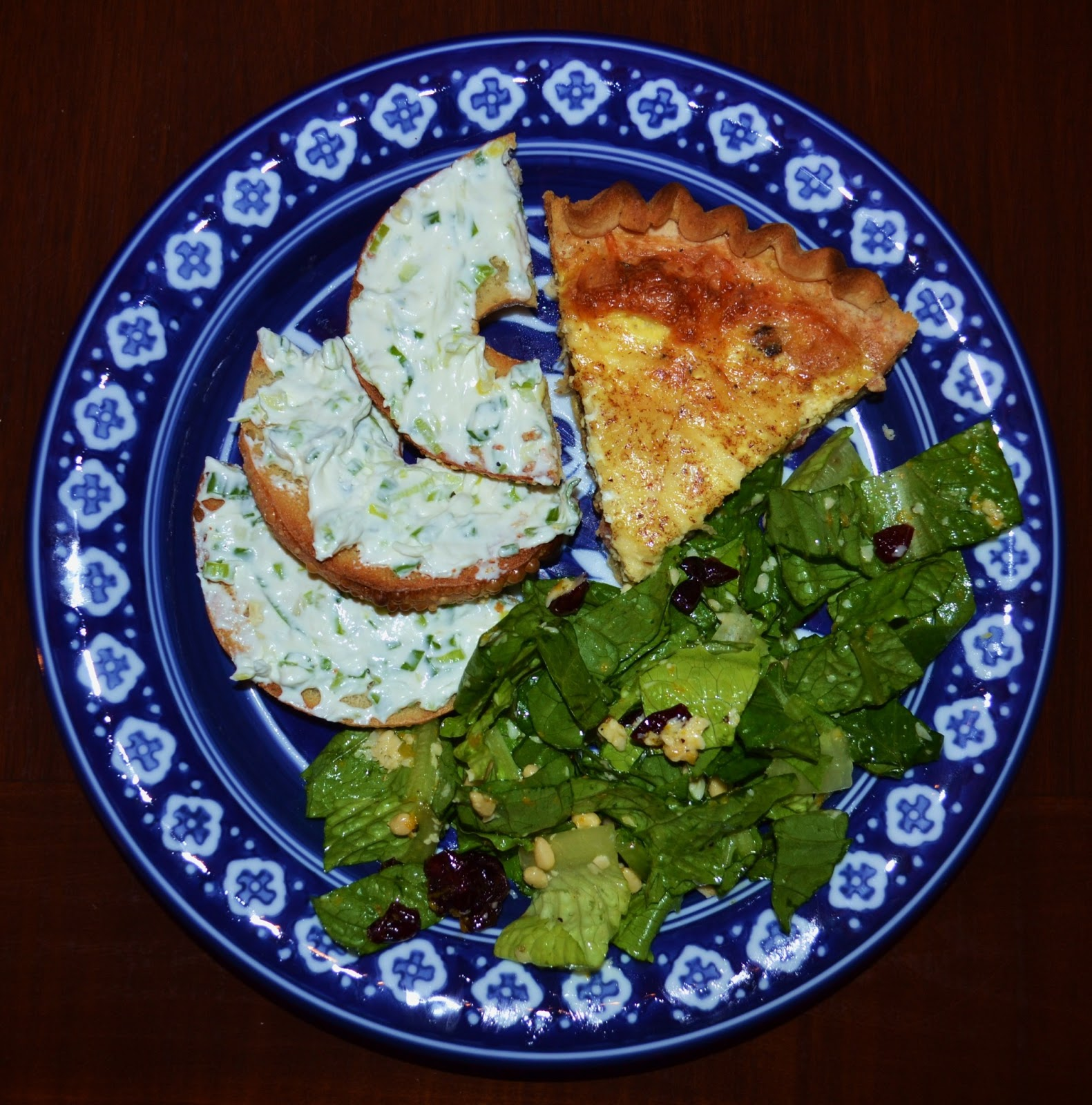 American Homestead: Elle's Kitchen: Bacon and Swiss Quiche