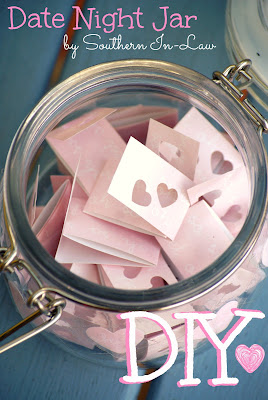 DIY Valentines Gifts - Date Night Ideas