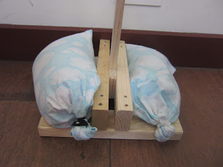 Handmade sand bags