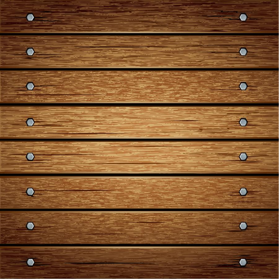 ネジ止めした木目のテクスチャ wood grain texture イラスト素材