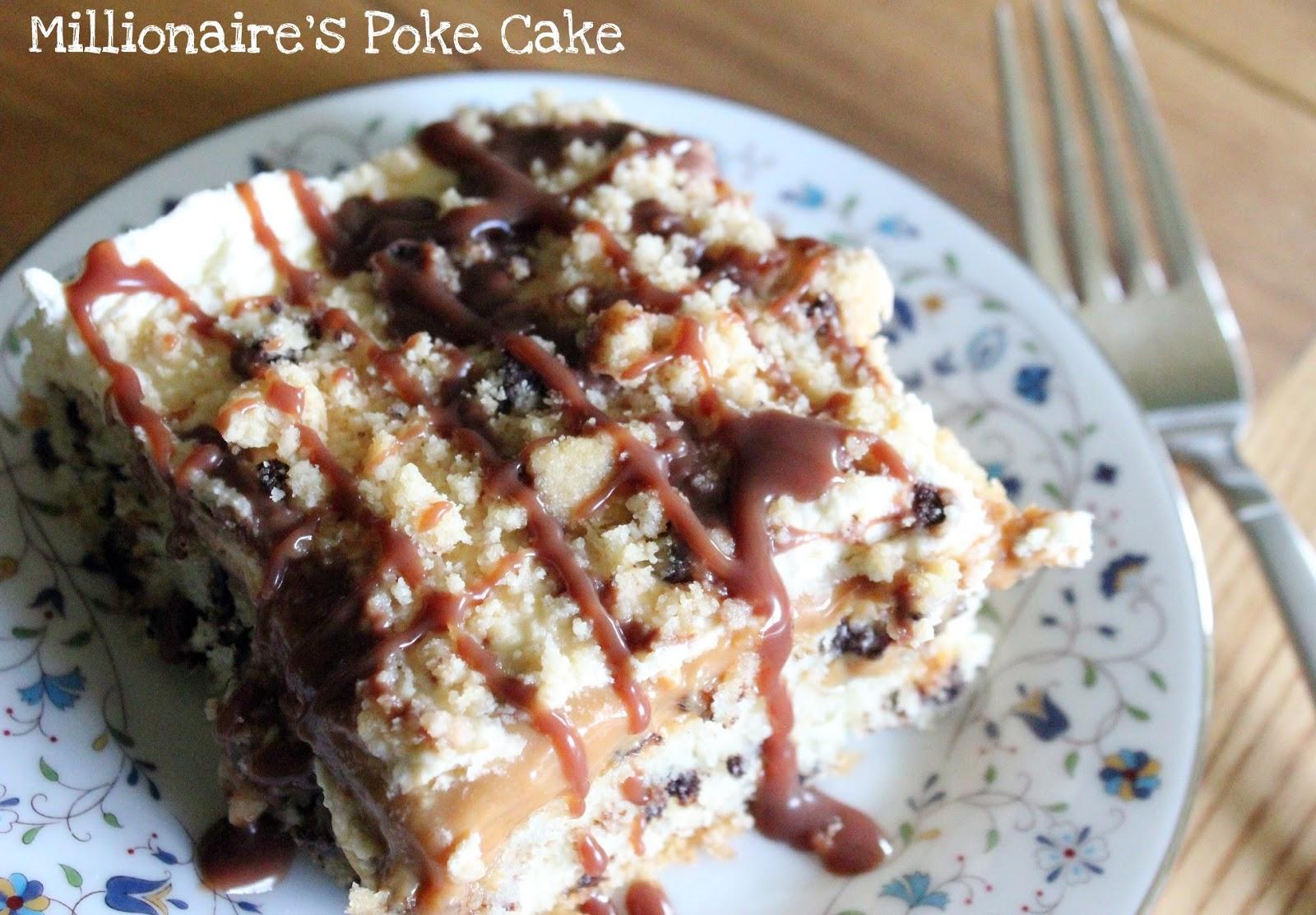 Chocolate Caramel Poke Cake Uk