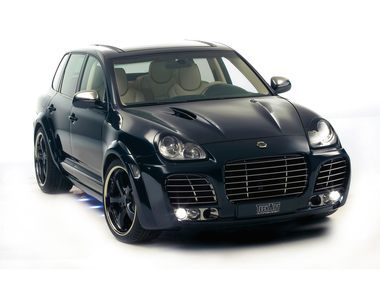Techart Magnum Based On Porsche Cayenne Turbo Car Tuning
