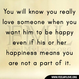 You will know you really love someone
