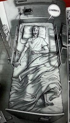 rick grimes hastane sahnesi